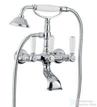 Bugnatese REVIVAL UNI Kádcsaptelep gégecsővel és zuhanyfejjel króm színben 400U