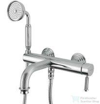 Bugnatese ATHENA Kádcsaptelep zuhanyszettel króm színben 8502