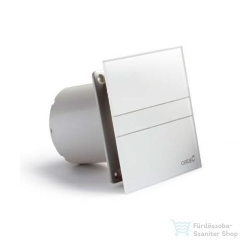 Sapho E-120 GT axiális fürdőszobai ventillátor időzítővel, 15W, cső átmérő 120mm, fehér 00901100