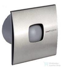 Sapho CATA SILENTIS 10 INOX T Axiális ventilátor, időzítővel, 15W, átmérő 100mm, inox 01071300