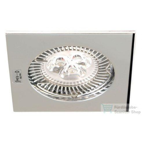 Sapho NAVI mennyezeti lámpa, 1xMR16, max.50W, 12 V, 81x81x30 mm króm 04694