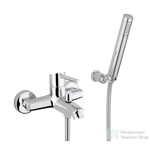 Bugnatese SMART Kádcsaptelep zuhanyszettel króm színben 2102