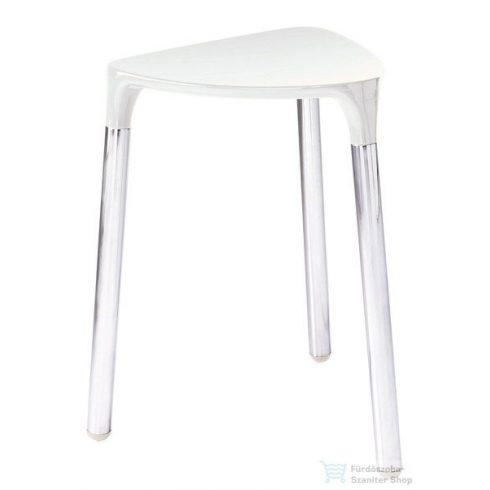 Sapho YANNIS fürdőszobai ülőke, 37x43,5x32,3 cm, fehér 217202