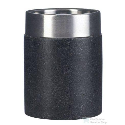 Sapho STONE black pohártartó 22010110