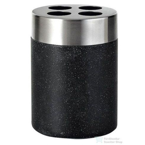 Sapho STONE fogkefetartó, black 22010210