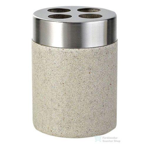 Sapho STONE fogkefetartó, bézs 22010211