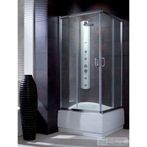 Radaway Premium Plus C 1700 80x80 szögletes zuhanykabin króm/átlátszó 30461-01-01N