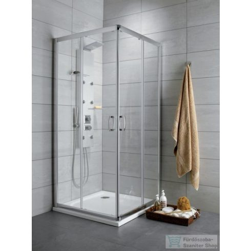 Radaway Premium Plus C 80x80 szögletes zuhanykabin króm/átlátszó 30463-01-01N