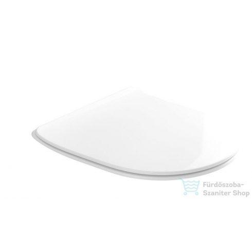 Sapho FLO  -  WC ülőke SLIM soft close, fehér, termoplast 319101