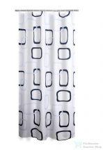 Sapho RIDDER GEO zuhanyfüggöny 180x200cm, polyester 403290