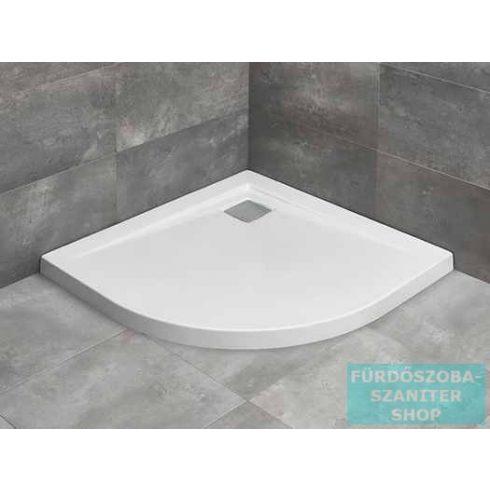 Radaway Argos A 90x90 íves zuhanytálca R399 szögletes zuhanyszifonnal 4AA99-01