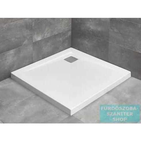 Radaway Argos C 80x80 szögletes zuhanytálca R399 szögletes zuhanyszifonnal 4AC88-01