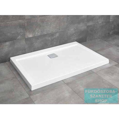 Radaway Argos D 90x80 szögletes zuhanytálca R399 szögletes zuhanyszifonnal 4AD89-01