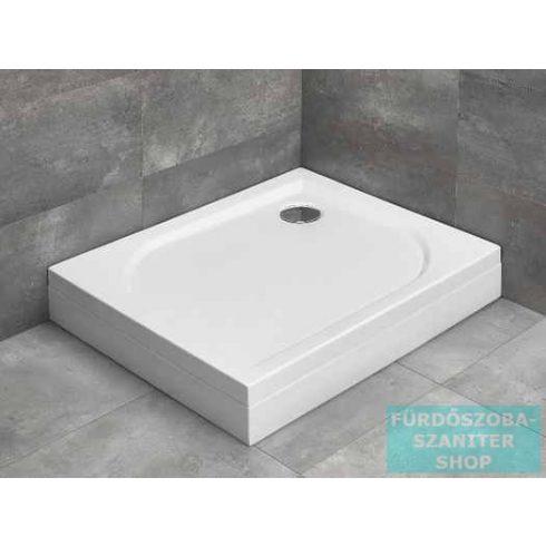 Radaway Delos D 80x75 szögletes zuhanytálca ST 90 zuhanyszifonnal és levehető előlappal jobbos 4D87514-03R