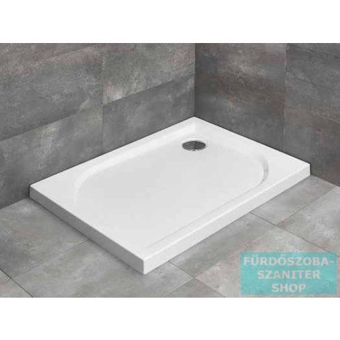 Radaway Delos D 80x75 szögletes zuhanytálca ST 90 zuhanyszifonnal 4D87545-03