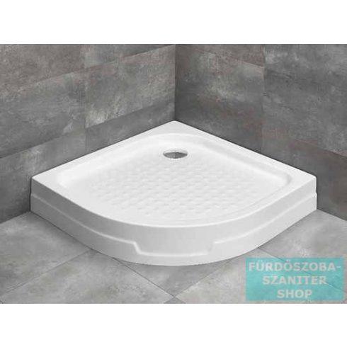 Radaway Rodos A 80x80 íves zuhanytálca ST 90 zuhanyszifonnal 4P88155-03
