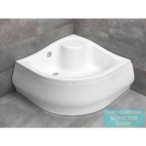Radaway Korfu A 80x80 íves magasított zuhanytálca 4S88400-03