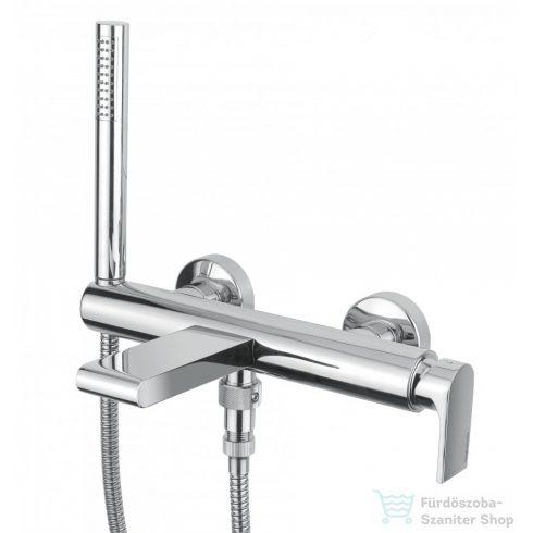 Bugnatese Simple Kádcsaptelep zuhanyszettel króm színben 6602