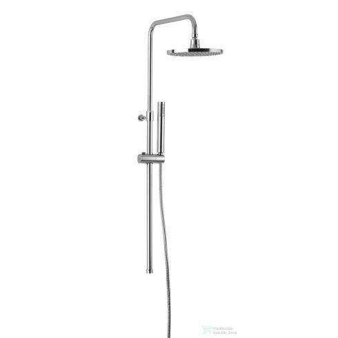 Sapho CORNELI Zuhanyoszlop csaptelep nélkül, fej- és kézizuhannyal, CE10S csaptelephez, króm 990ESD