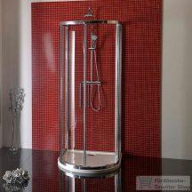 Sapho LUCIS LINE félköríves zuhanykabin 90x90 cm DL3615