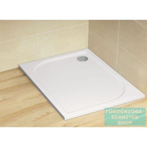 Radaway Paros D 100x80 szögletes műmárvány zuhanytálca ST 90 zuhanyszifonnal MBD8010-03-01
