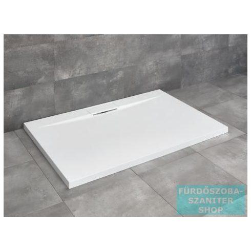 Radaway Giaros D 100x80 szögletes műmárvány zuhanytálca 5SL1 zuhanyszifonnal MKGD1080-03