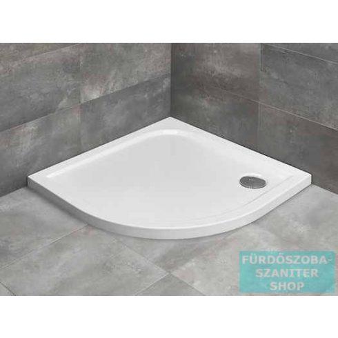Radaway Delos A 80x80 íves zuhanytálca ST 90 zuhanyszifonnal SDA0808-01