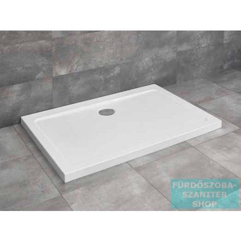 Radaway Doros D 90x80 szögletes zuhanytálca ST 90 zuhanyszifonnal SDRD9080-01