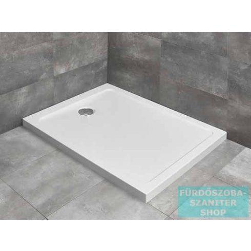 Radaway Doros F 100x80 szögletes zuhanytálca ST 90 zuhanyszifonnal SDRF1080-01