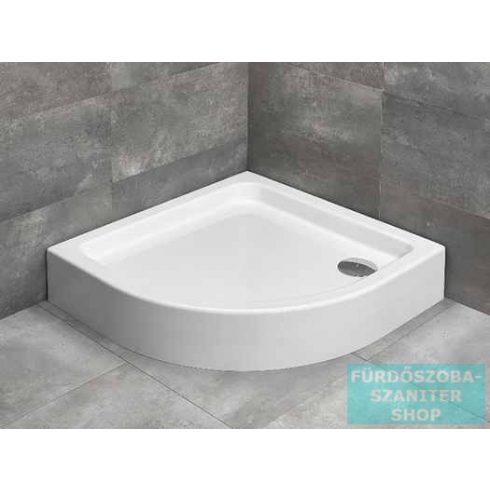 Radaway Laros A 85x85 íves zuhanytálca ST 90 zuhanyszifonnal SLA8585-01