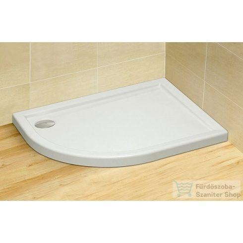 Radaway Tasos E 100x80 íves aszimmetrikus zuhanytálca ST 90 zuhanyszifonnal jobbos STE1086-30R