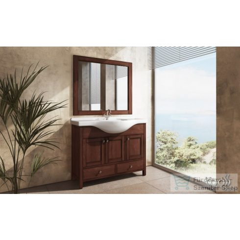 TBoss Toscana 105 fürdőszoba bútor mosdóval és tükörrel
