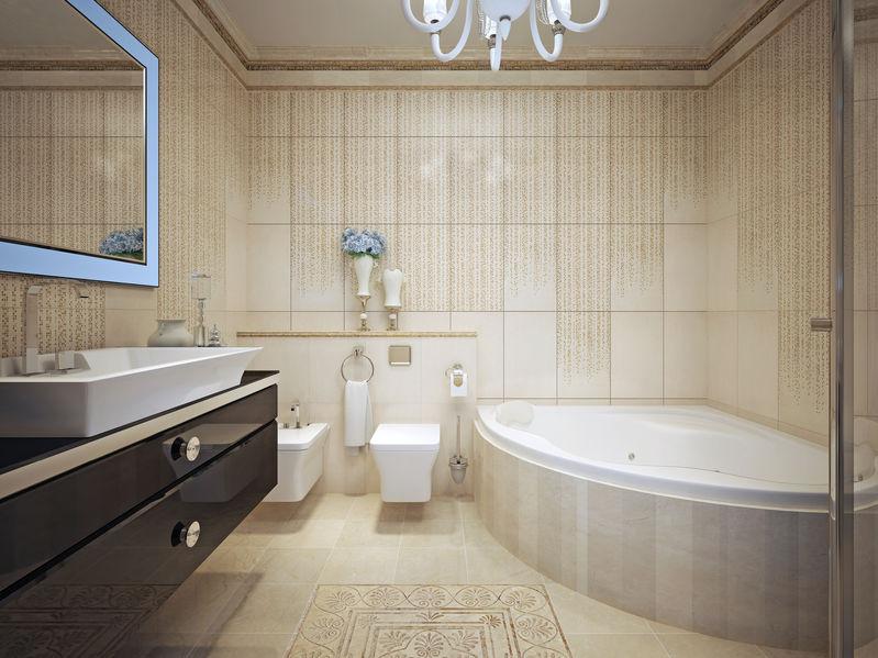 Sarokkád: kellemes és intim megoldás fürdőszobájába